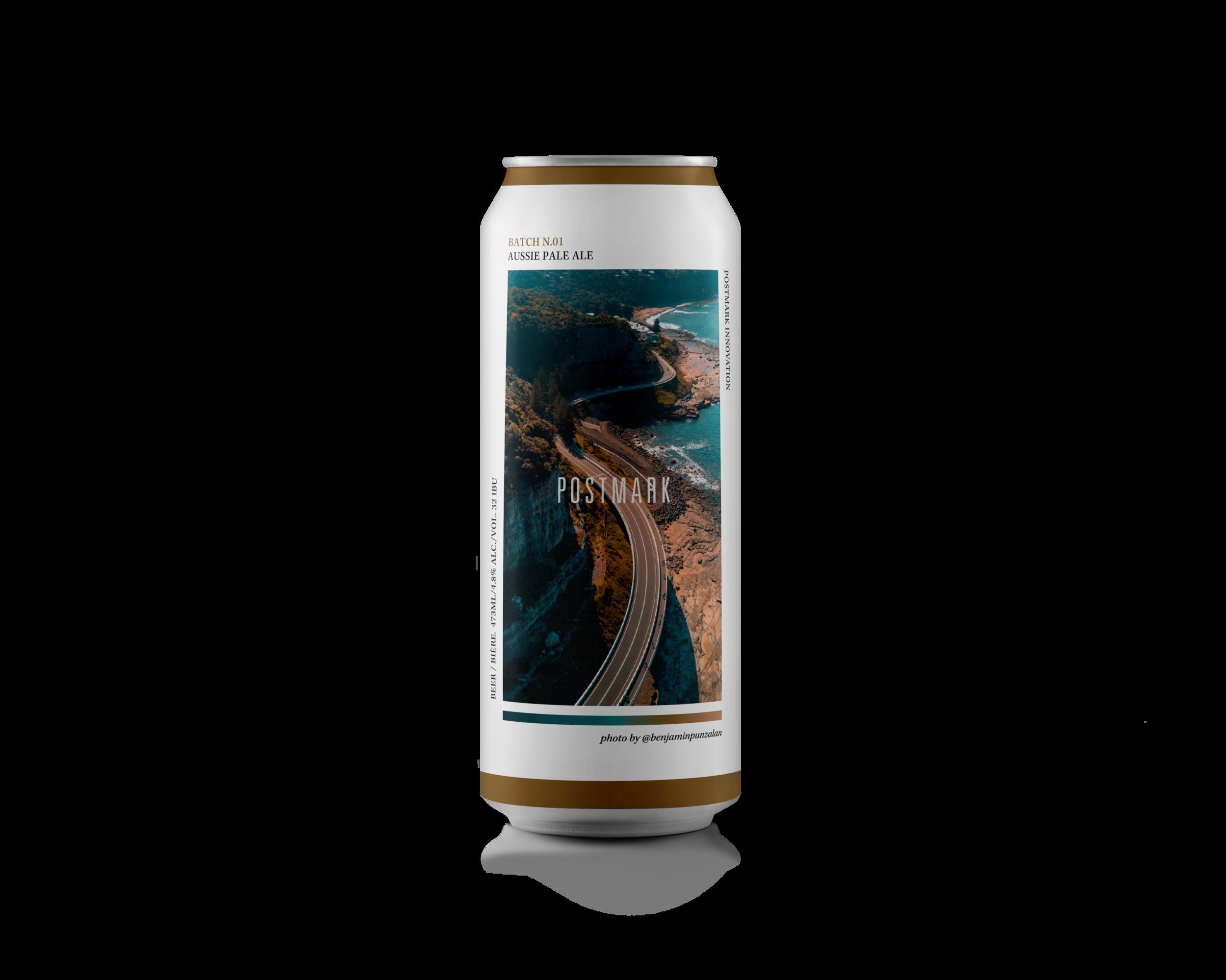 Aussie Pale Ale - 4.8 ABV / 32 IBU