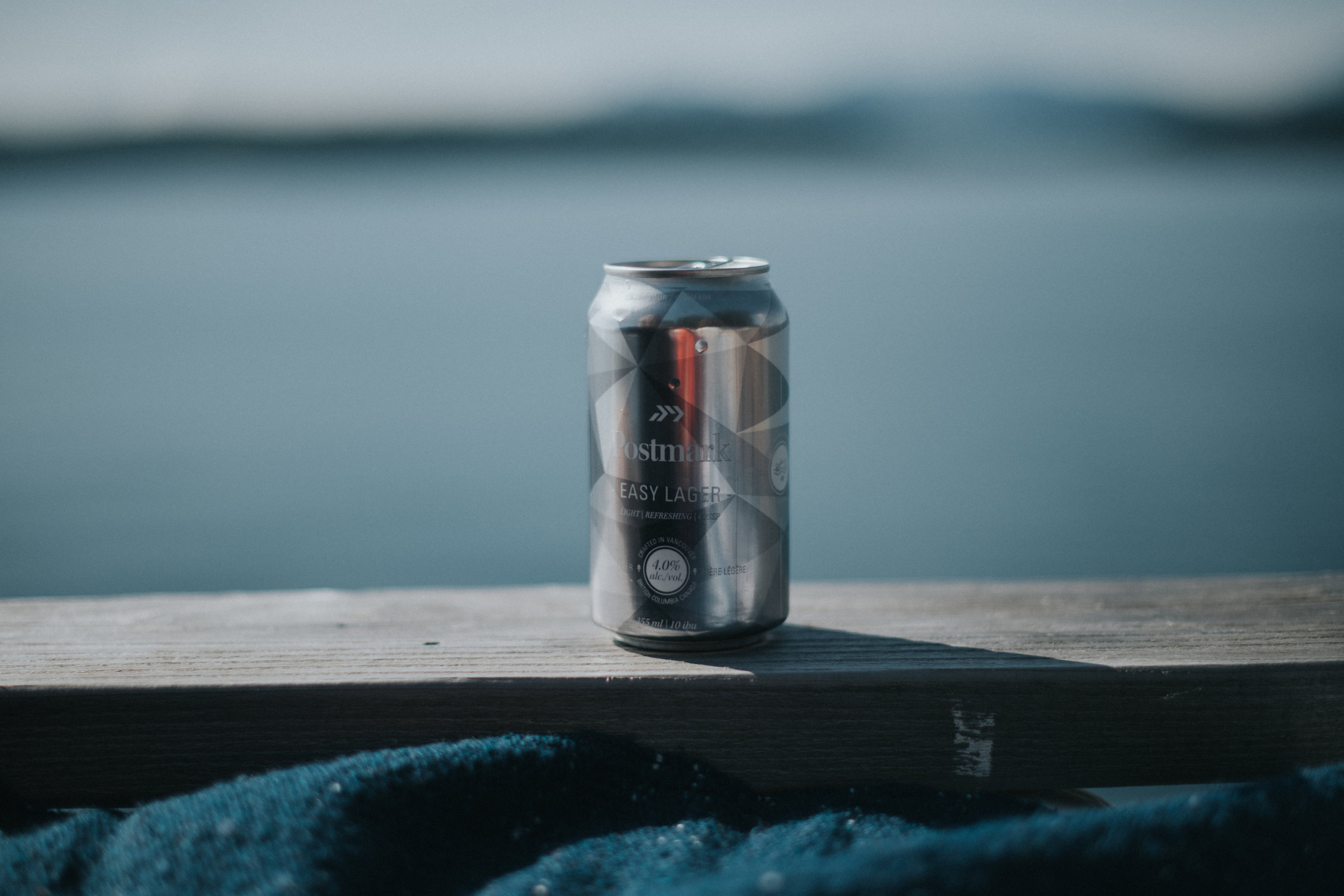 PACIFIC SALMON FOUNDATION - Easy Lager | 355ml can