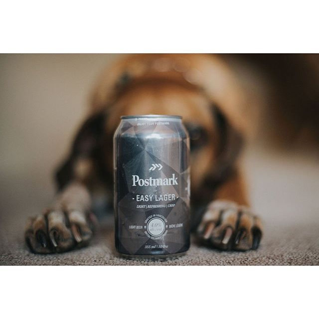 #EnjoyYourPostmark | With a friend #postmarkbrewing #easylager #lager #beer #craftbeer #silvercan