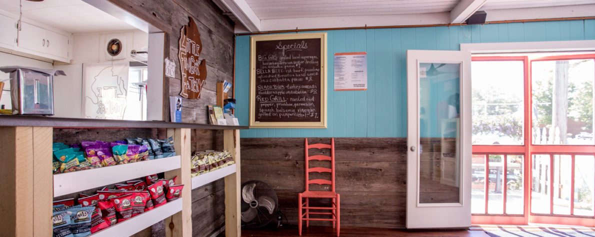 Little Finger Eatery - Little Finger Eatery offers up a lunch service of artisan sandwiches, wraps and paninis grilled to order.1-231-835-2168