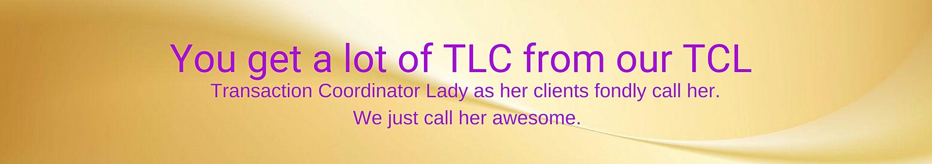 CeCe hampton Enterprises Transaction Coordinator, Jazalyn Mason, giving TLC to all her clients.