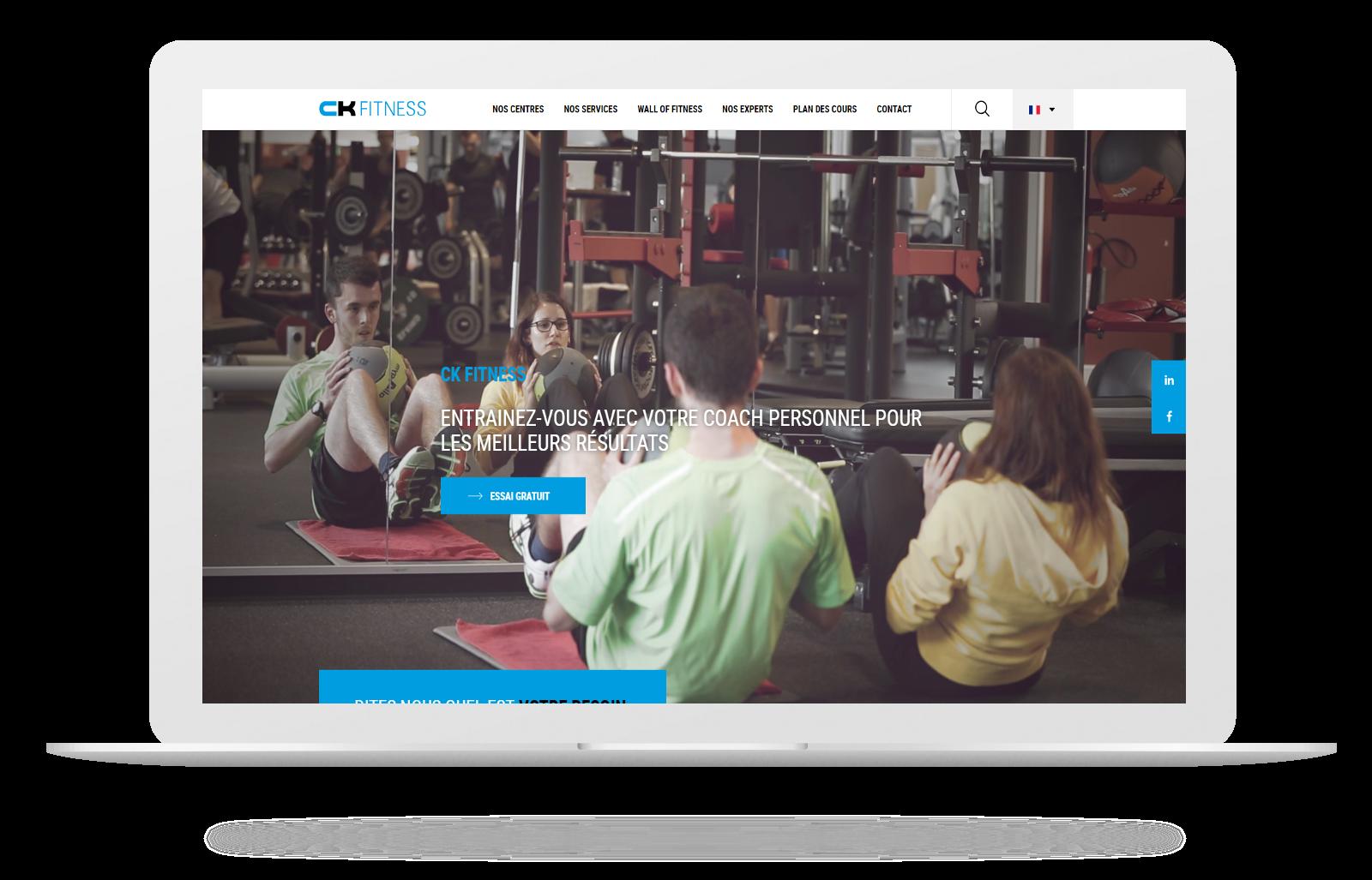 Découvrez le nouveau site CK Fitness