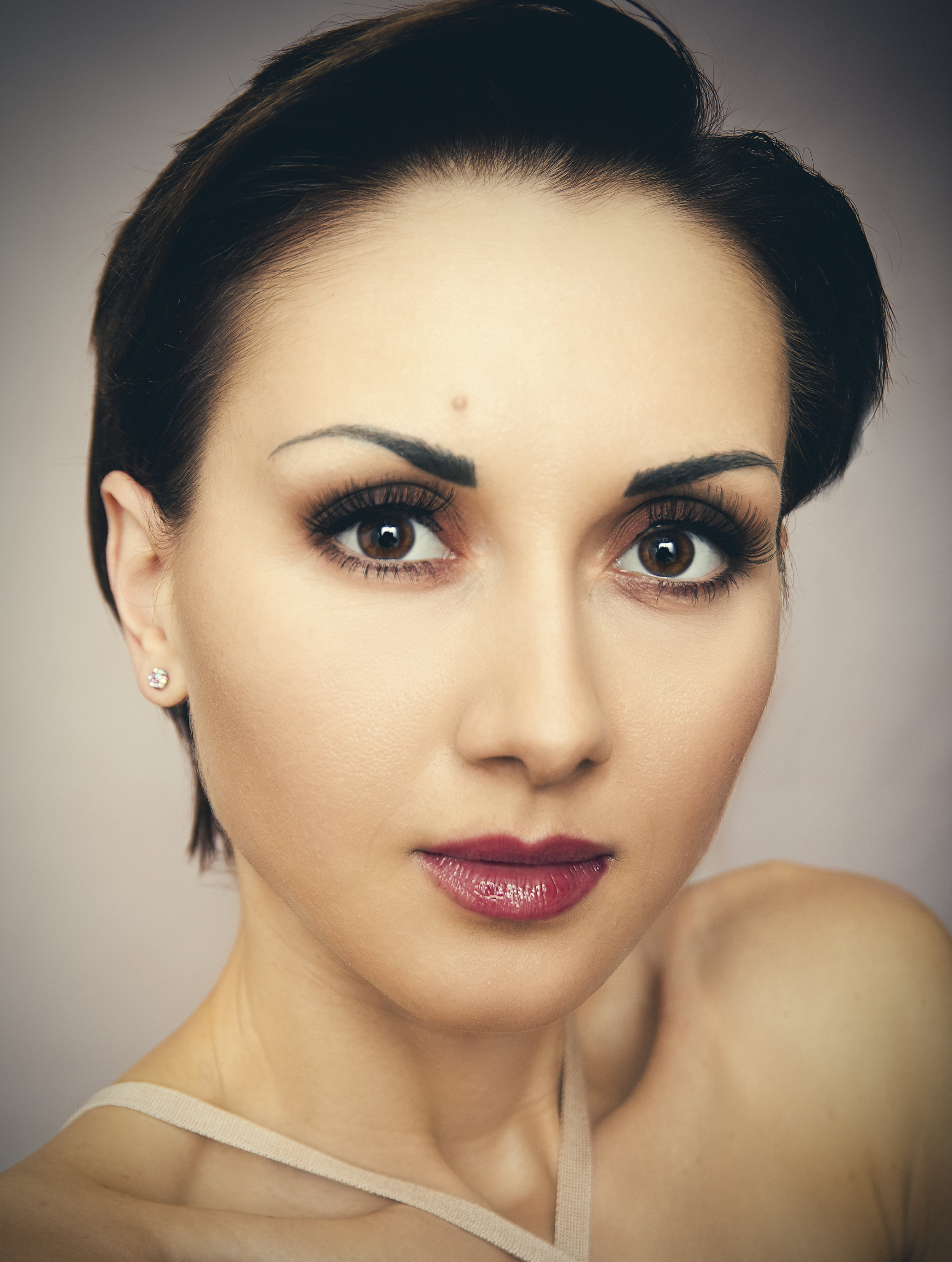 Makeover Beauty Portrait