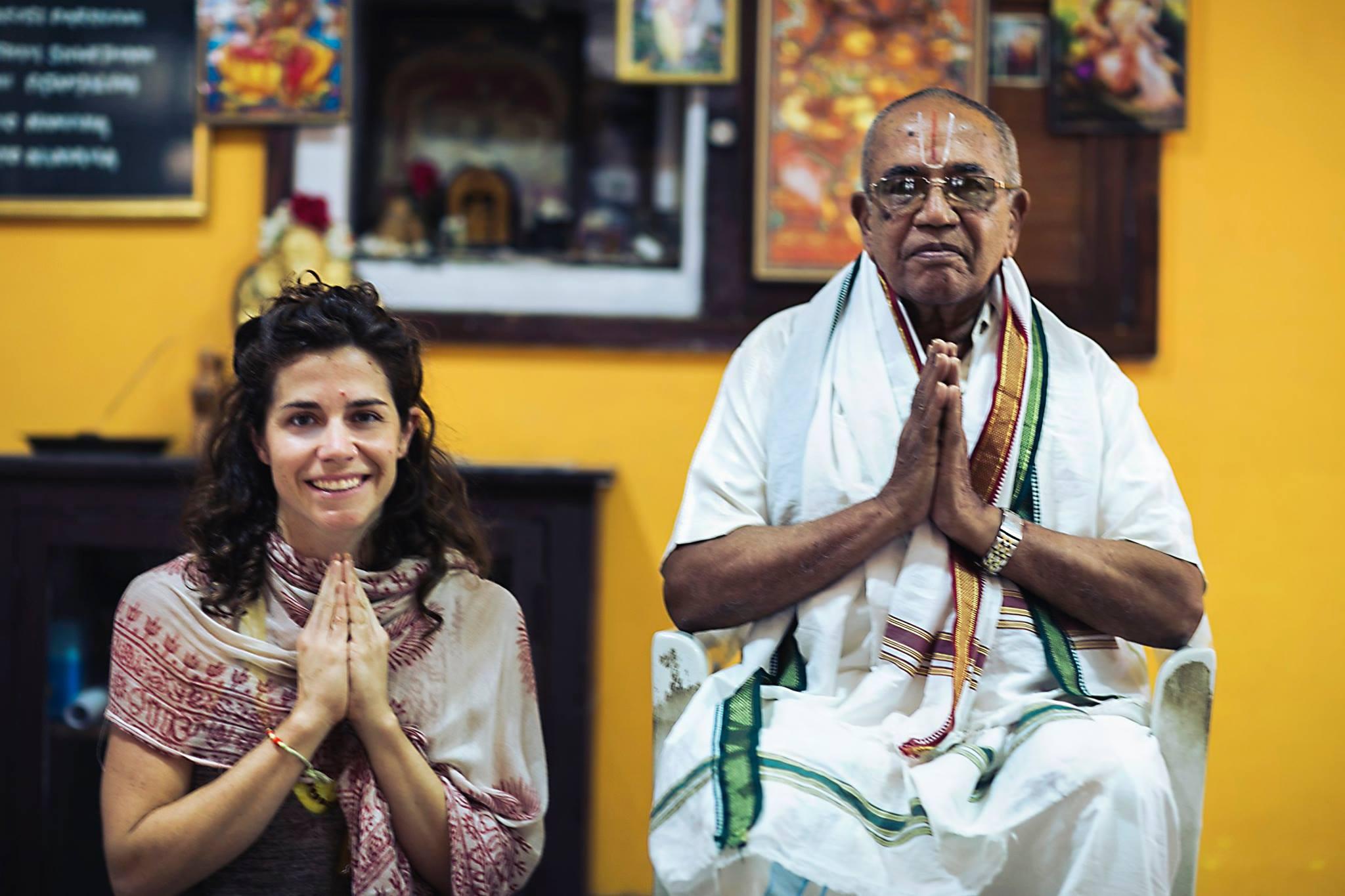 Guruji, BNS Iyengar and myself 2014