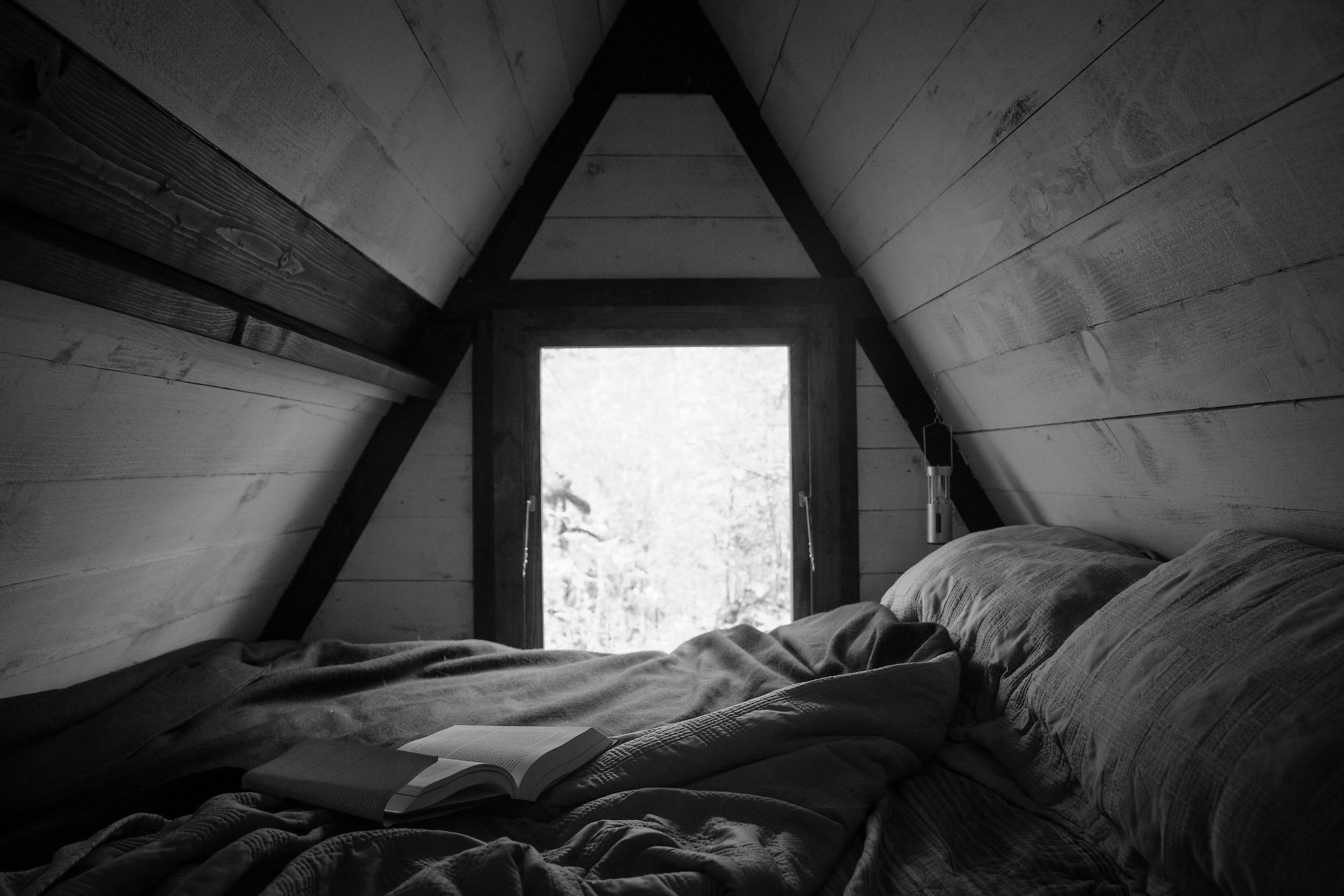 The Loft in the Blue Cabin