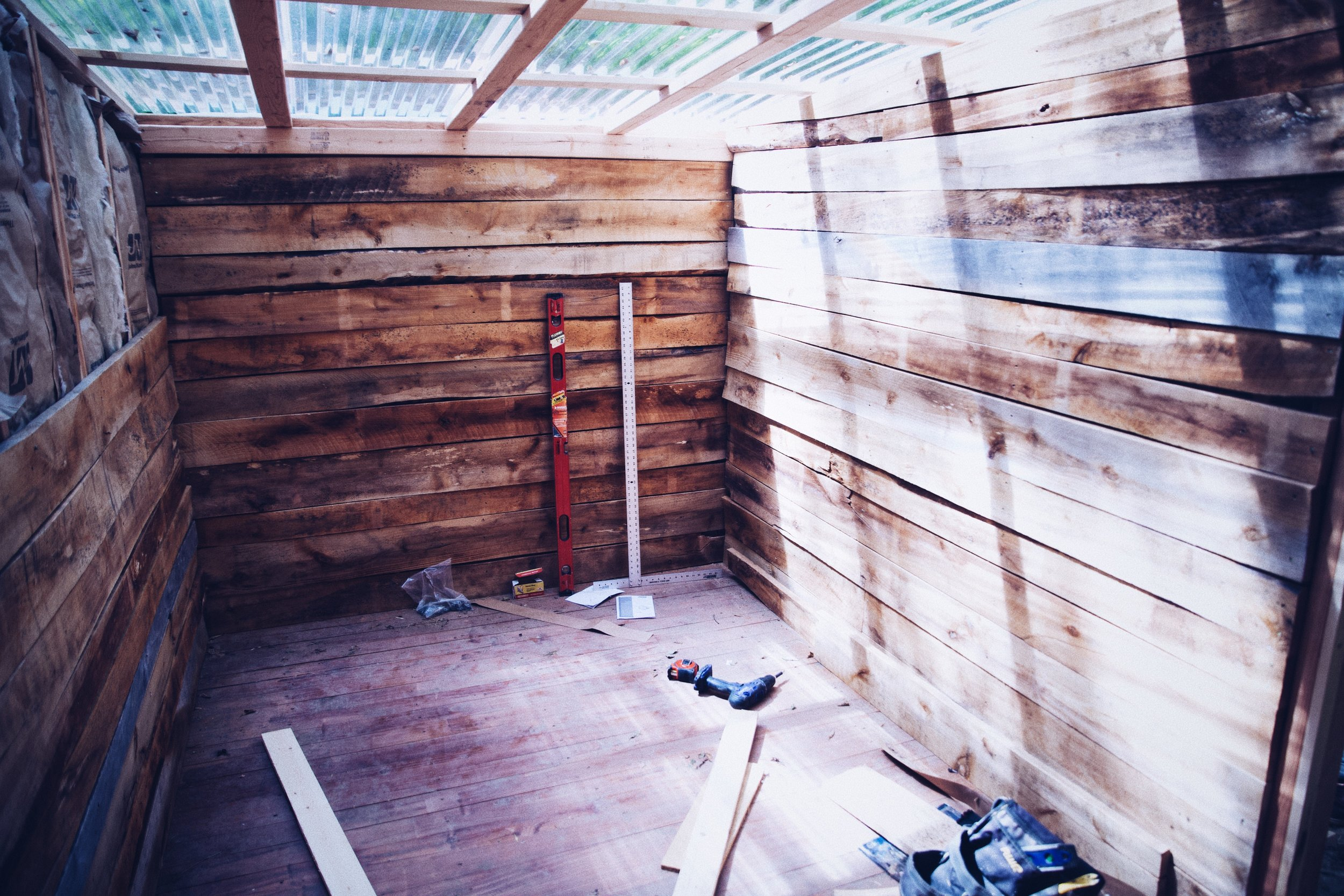 Bathroom Cabin in the works