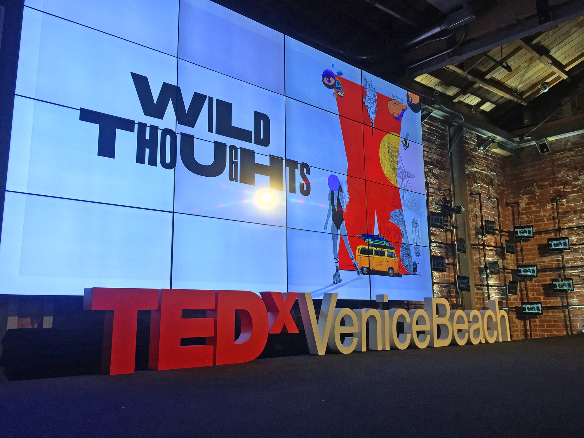 TEDx Venice Beach 2017 was held at the Charles and Ray Eames Office Building in Venice -