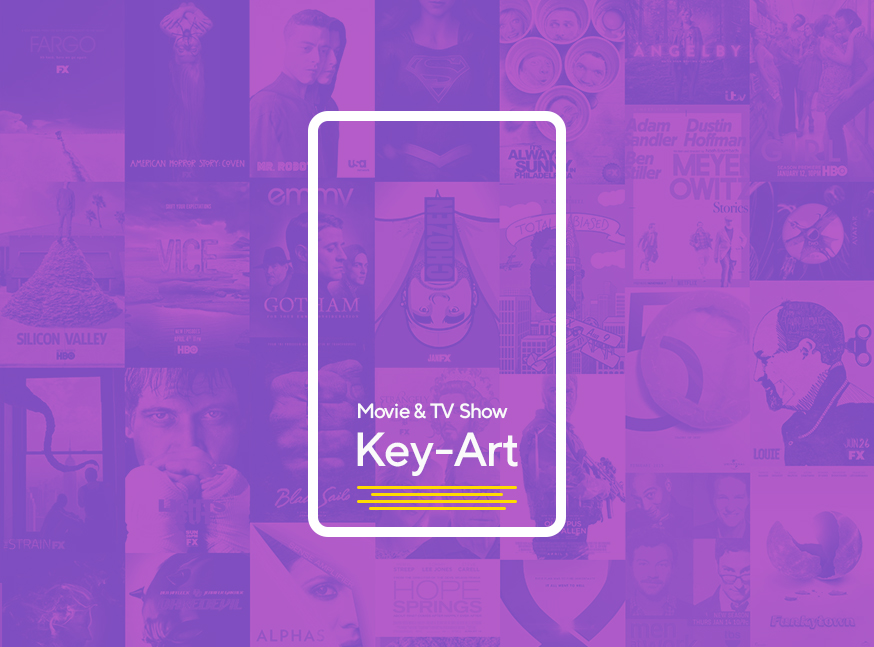 Key-Art - Movie & tv show advertisement