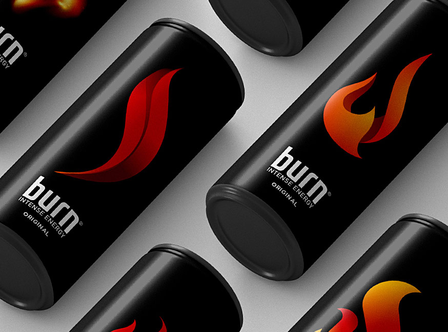 Burn | Energy Drink - Branding