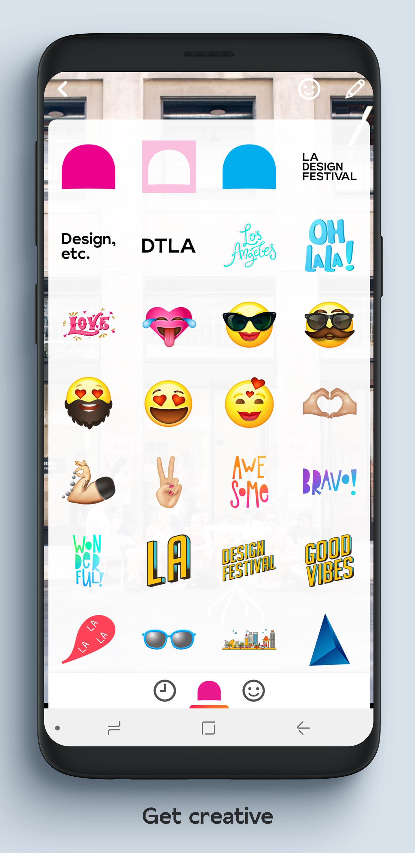 LA DESIGN FESTIVAL - Social Messaging and Stories App