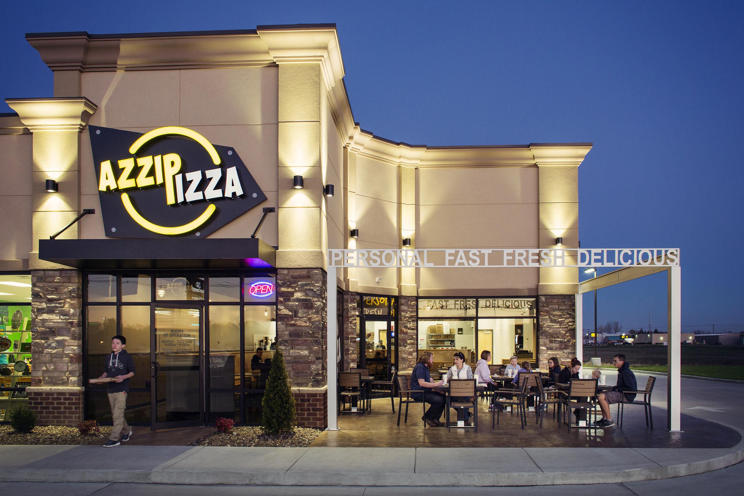 azzip pizza -