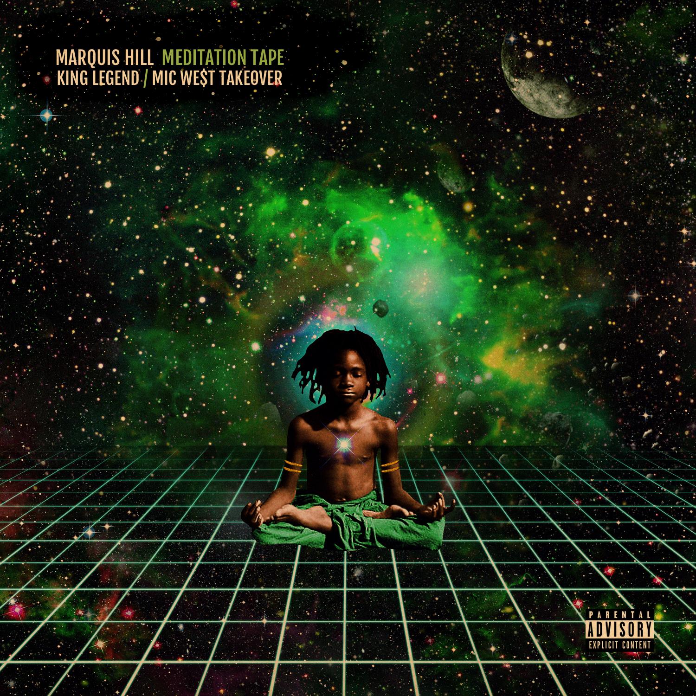 Marquis Hill - Quand l'idée est bonne et que la réalisation aussi, il n'y a pas grand-chose à ajouter sinon d'écouter le résultat en opinant du chef. L'an dernier, le trompettiste américain Marquis Hill avait sorti Meditation Tape, sans doute son meilleur album, un mélange de hip-hop instrumental et de jazz-r'n'b à la Robert Glasper et Christian Scott (qui entretiennent un air de famille avec le hip-hop instrumental, ceci explique cela). A la batterie, on y trouvait le gars sûr Makaya McCraven, spécialiste... du hip-hop instrumental (entre autres). Du coup, six mois plus tard, voici exactement la même Meditation Tape,mais avec en sus le flow solide de deux rappeurs de Chicago, King Legend et Mic We$t, ainsi que le poète Harold Green III. On triple le plaisir avec ses lyrics qui font écouter l'album d'une toute autre oreille. Puisse l'expérience inspirer d'autres confrères/consoeurs.