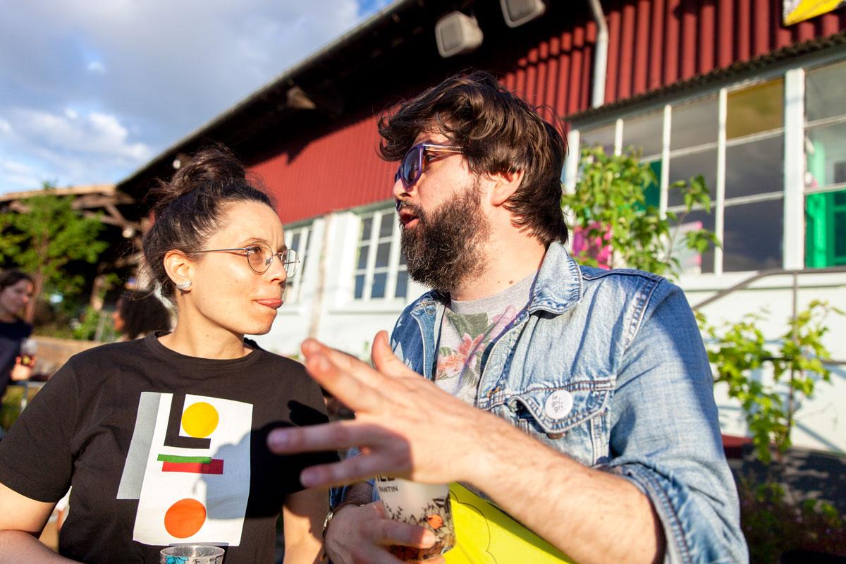 Anne Paceo et Mathieu