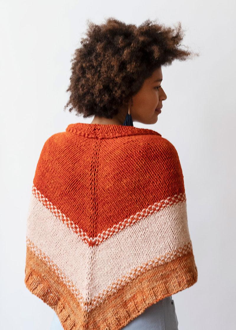 Sunrise Garden Shawl Knit Kit from Echoview Fiber Mill