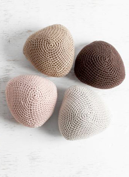 Craftsy has a great Knitted Knockers Kit