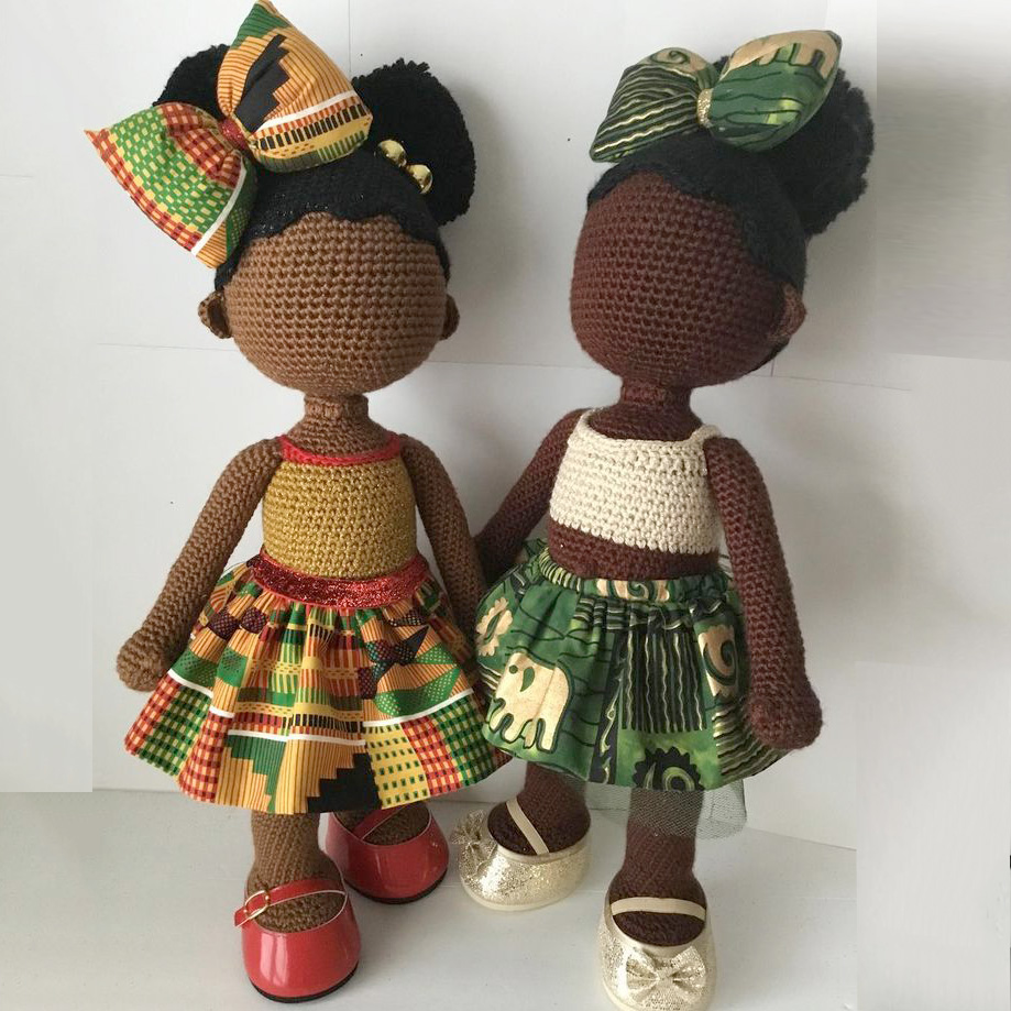MY KINDA THINGCustom Crochet Dolls - Designer Aniqua Wilkerson, is a crochet artist specializing in creating unique custom crochet dolls – particularly Brown Girls. Her objective is to create realistic depictions of beautiful brownchildren in efforts to promote pride and confidence.
