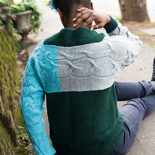 FATIMAH HINDS Modcast - DK and Cables And Colorblocking... We're in. Wide range of unique patterns for adults and kids.$8.00