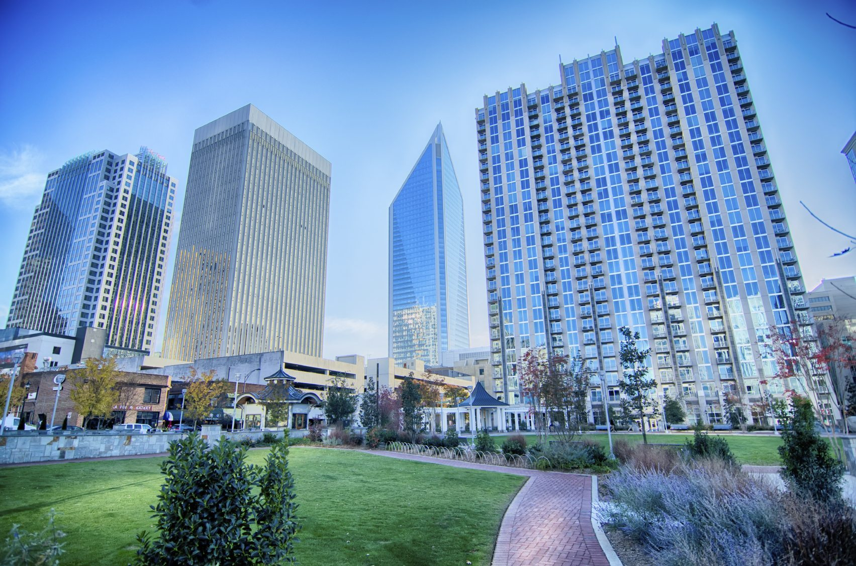 - WE ARE CONVENIENTLY LOCATED in the heart of uptown charlotte