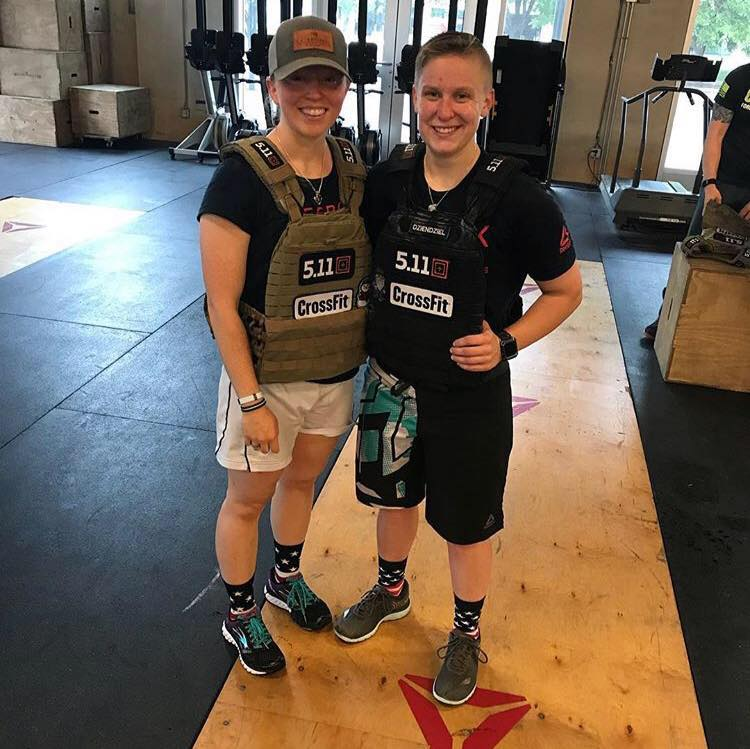 """- """"I finally have friends other than from college or work! But really, it's nice to have an outlet with people who have the same drive and passion as you, in a place that does so much for my well being. Crossfit is my best stress relief, and I think that translates into my work and personal life as well.""""– Robyn L."""