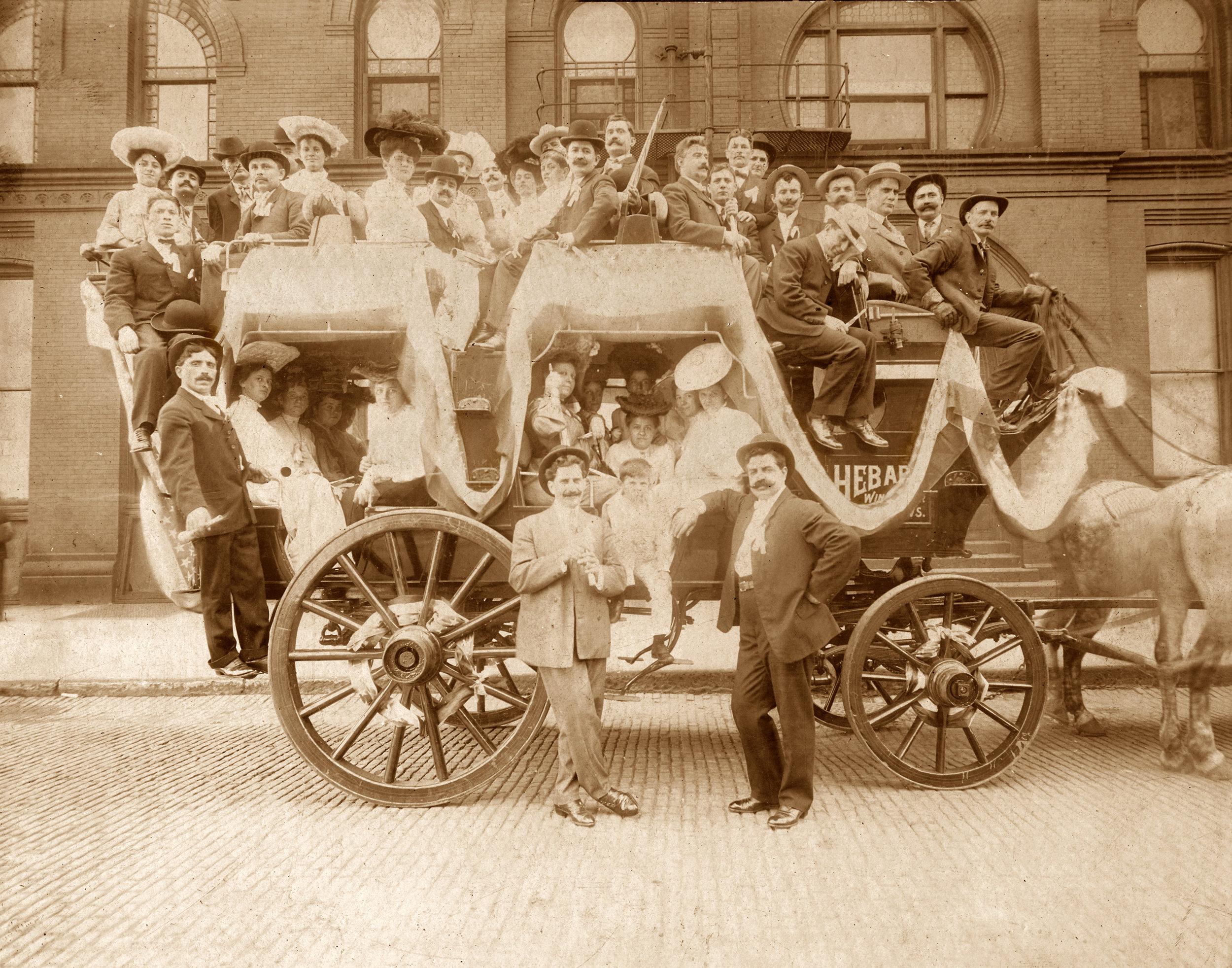 Tally Ho Wagon