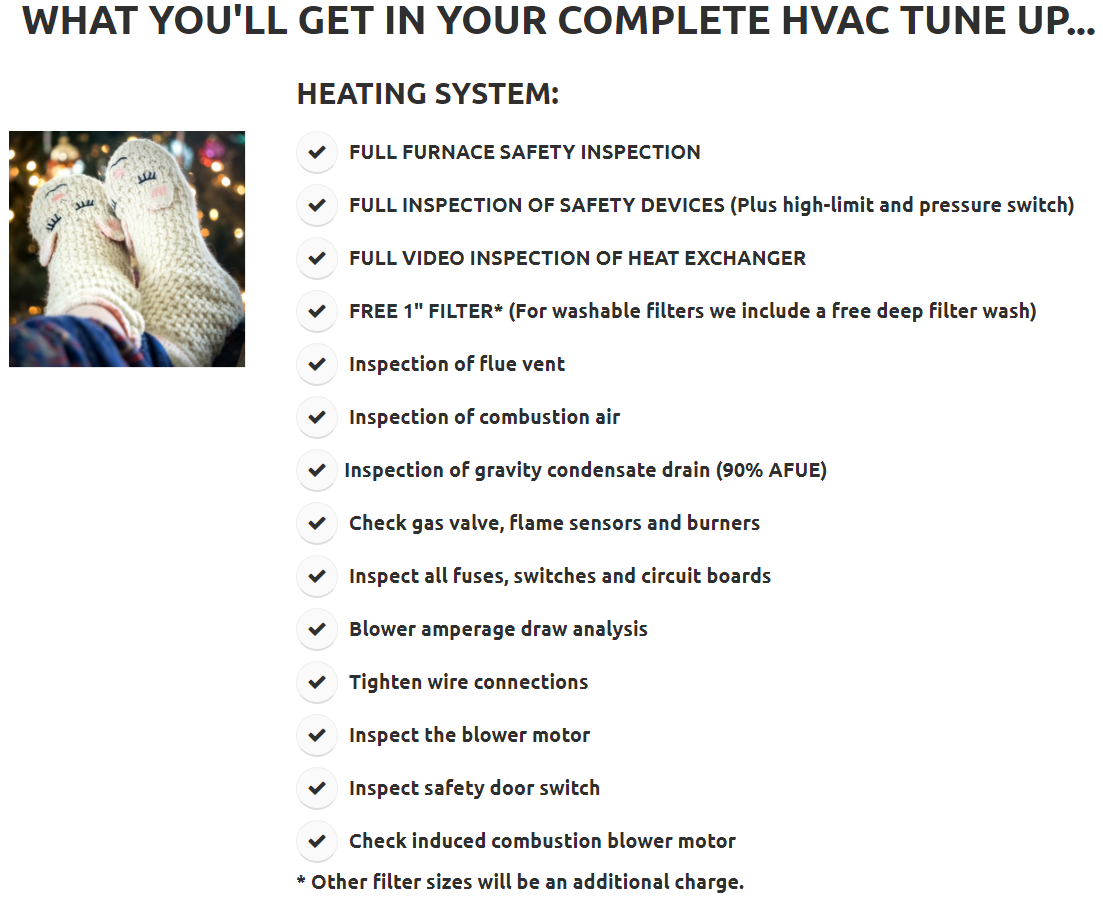 $35 HVAC Tune Up — 24/7 Heating & Air Conditioning