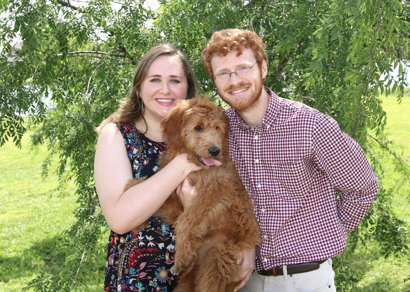 A portrait of my little family: me, Reece & Puddin'