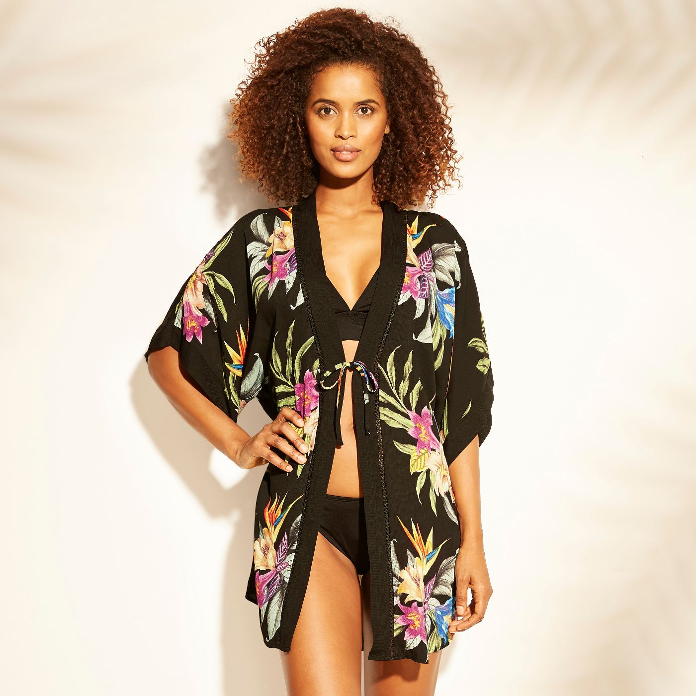 Coverup option- You could probably catch me wearing this with white ankle denim and a black tank. Just sayin'
