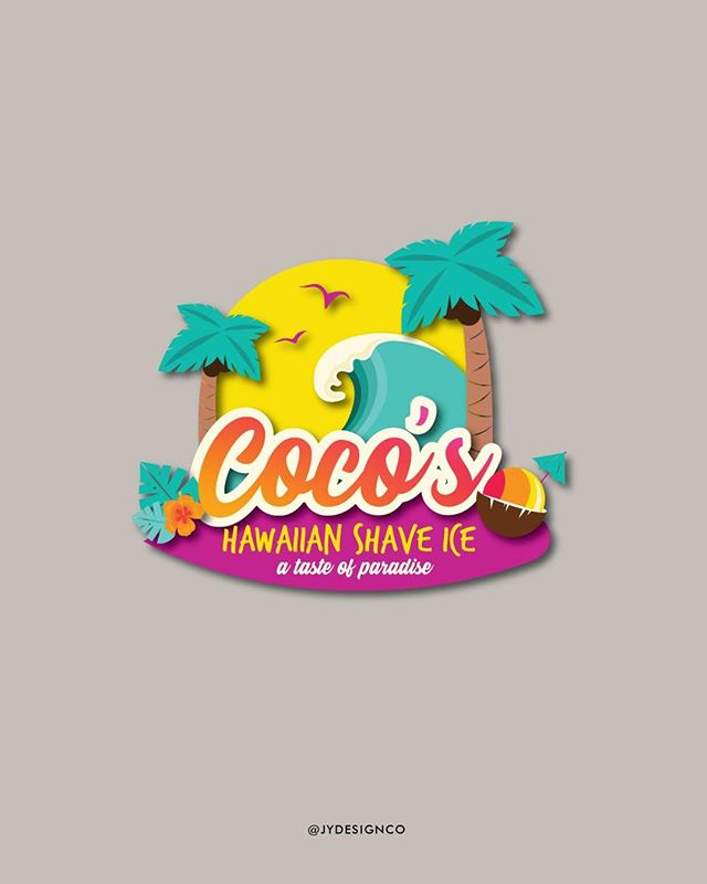 It's summer time, and on a hot day, there's nothing better than some shave ice! That's why I am so excited to share a glimpse of Coco's Hawaiian Shave Ice rebranding! A bright, surf vibe makes this logo STAND OUT amongst the crowd! I had so much fun designing this one!⠀ .⠀ .⠀ .⠀ .⠀ .⠀ .⠀ .⠀ .⠀ .⠀ .⠀ #risingtidesociety #rts #dontquityourdreamjob #jydesignco #jackieyoder #creativewomen #communityovercompetition #elevatecultivate #creativepreneur #calledtobecreative #loveyourbrand #brandidentity #branding #brandinginspiration #branddesigns #smallbusinessbranding #designfeed #logolove #logodesigns #logodesigner #gallupdesigner #galluprealtrue #galluparts #newmexicodesigner #newmexicorealtrue
