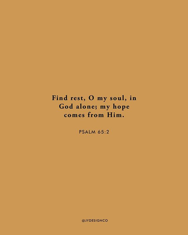 Find rest, O my soul, in God alone; my hope comes from Him.⠀ - Psalm 65:2⠀ .⠀ .⠀ .⠀ .⠀ .⠀ .⠀ .⠀ .⠀ .⠀ .⠀ #sundayfunday #bibleverse #scripture #jesusfollower #inspiration #inspo #risingtidesociety #rts #dontquityourdreamjob #jydesignco #jackieyoder #creativewomen #communityovercompetition #createcultivate #creativeladydirectory #creativepreneur #calledtobecreative #ladyboss #girlboss #beyourownboss #smallbizowner #entreprenuerwoman #entrepreneurmindset #entreprenuerstyle #entrepreneurslife #gallupdesigner #newmexicodesigner