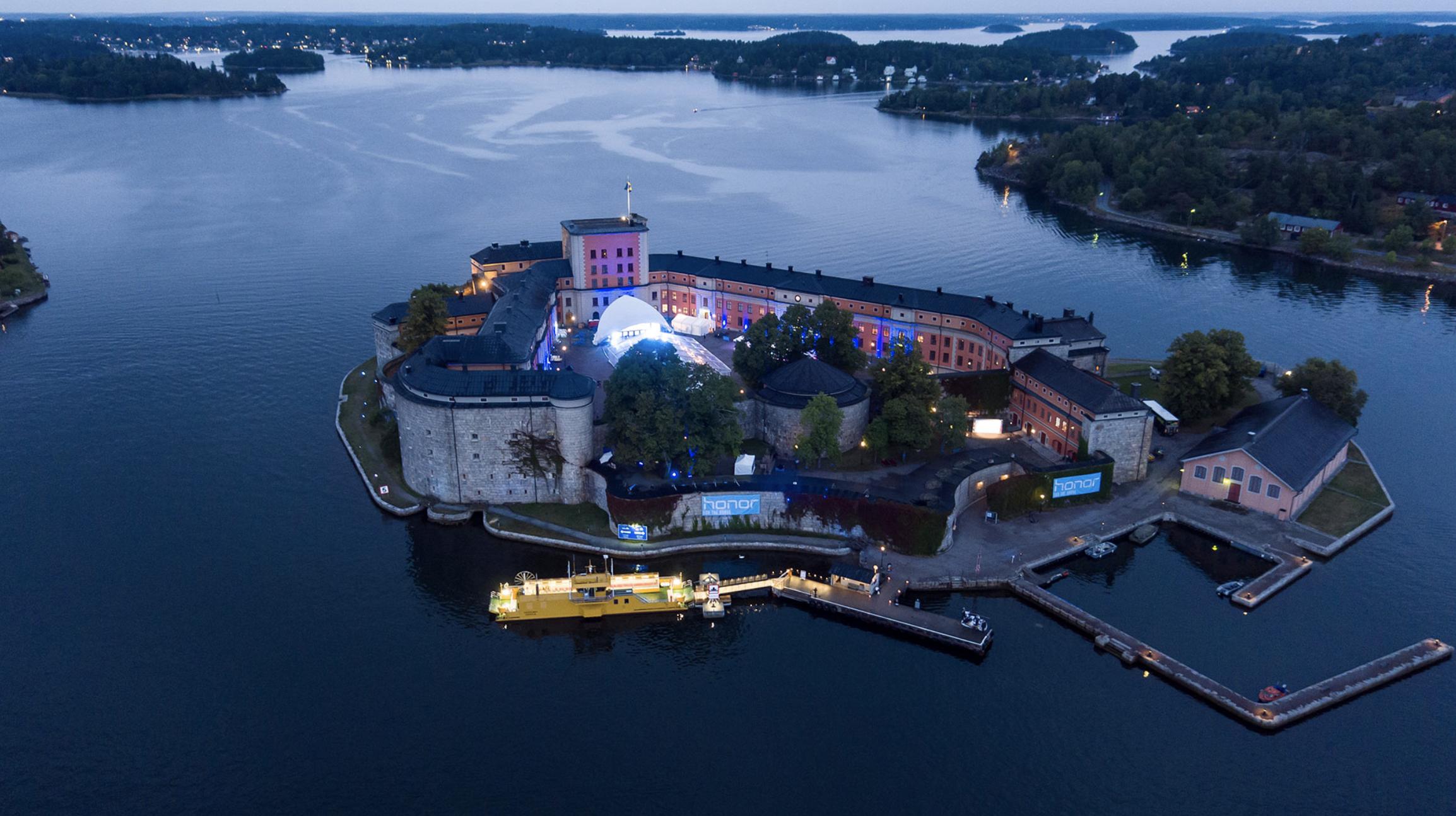 Vaxholms Kastell - Event night