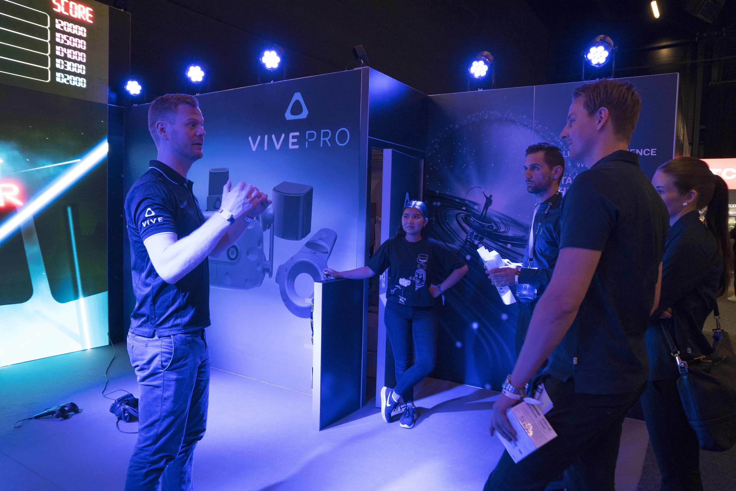 HTC VIVE VR EXPERIENCE