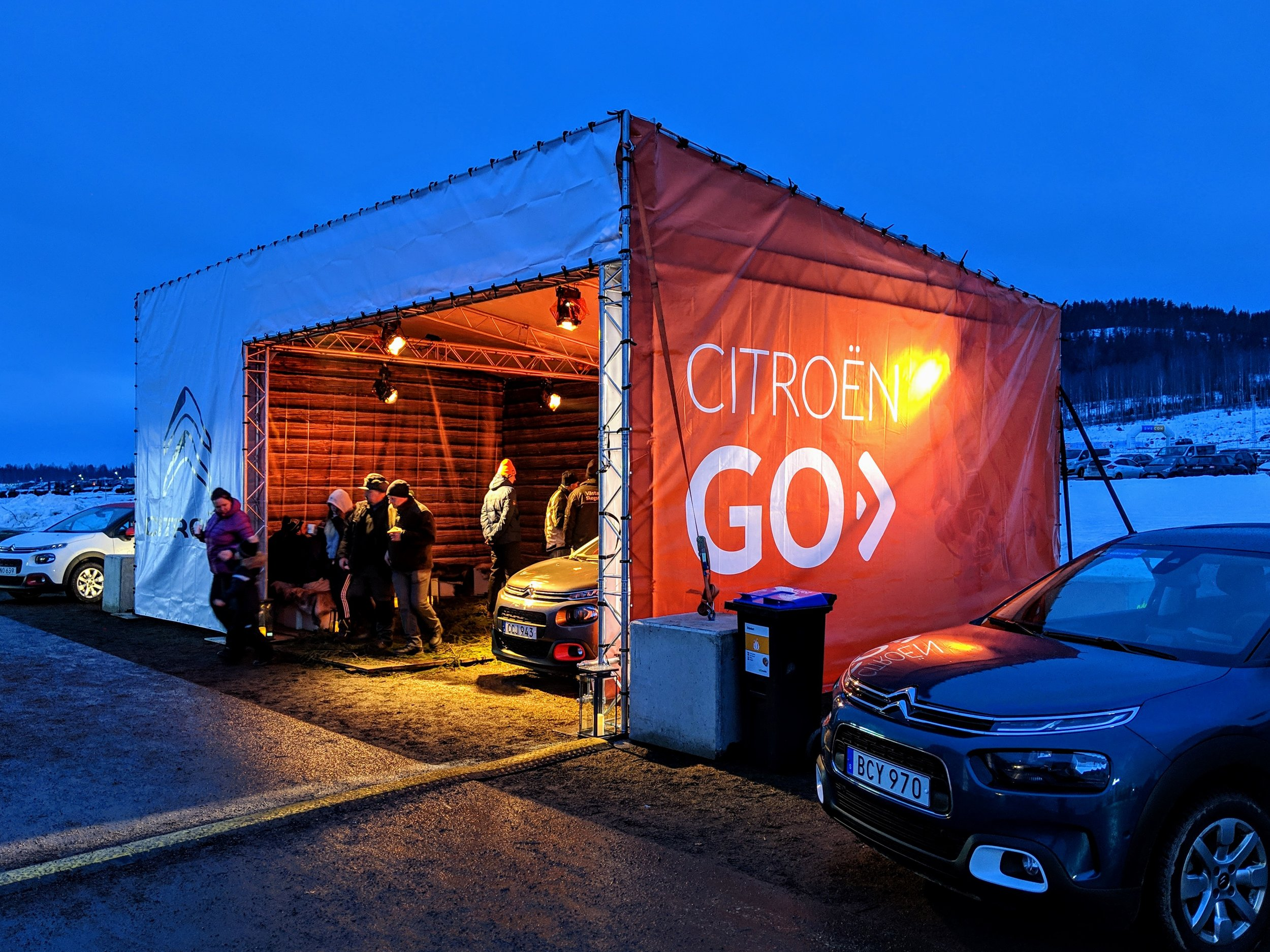 Camp Citroën - Torsby
