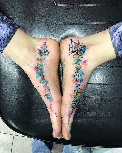 yeyomondragontattoos_Water Color Tattoo @ Certified Tatto Denver Colorado.jpg