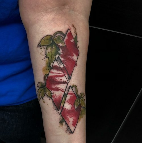 Water Color Diamond Tattoo by Jeff at Certified Tattoo Studios.jpg