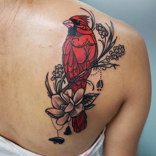 Color Bird Tattoo by Piper  at Certified Tattoo Studios Denver Co.jpg