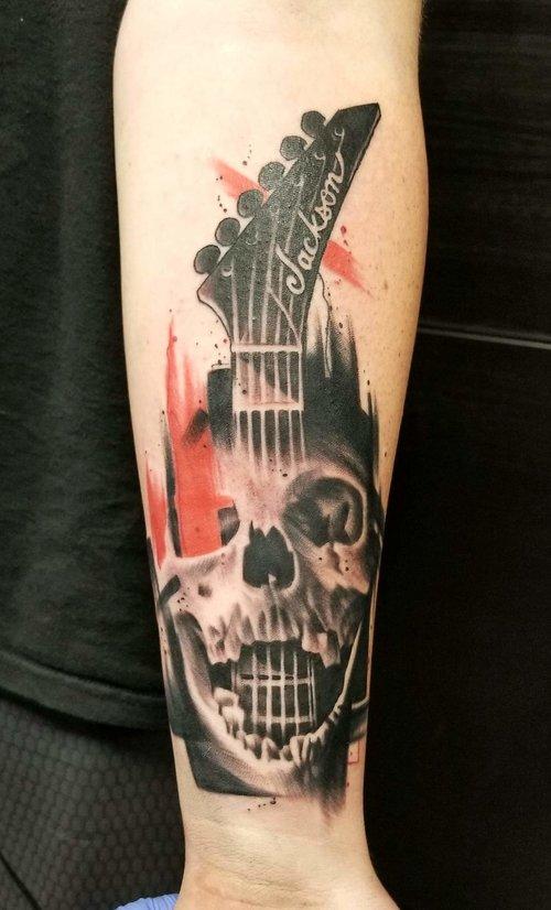 Skull Tattoo by Piper at Certified Tattoo Studios Denver Co.jpg