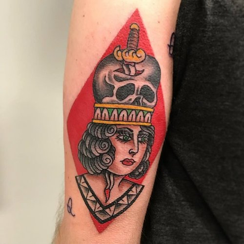 Color Traditional Tattoo by Jorden  at Certified Tattoo Studios Denver Co.jpg