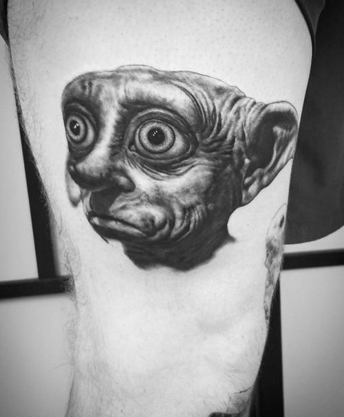 Black and Gray Lord of the Rings Tattoo by Alix at Certified Tattoo Studios Denver Co 1.jpg