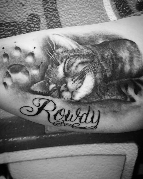 Black and Gray The Cat Portrait by Alix at Certified Tattoo Studios Denver Co.jpg