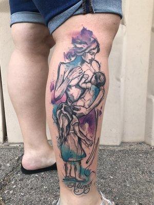 Custom Water Color Tattoo by Skyler Espinoza at Certified Tattoo Studios in Denver Co 1 1.jpg