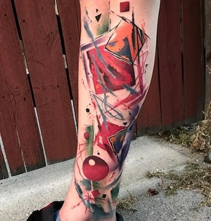 Geometric Water Color Tattoo by Skyler Espinoza at Certified Tattoo Studios in Denver Co 1.jpg