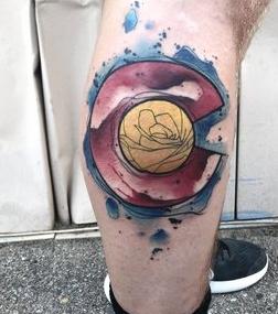 Water Color Calorado Tattoo by Skyler Espinoza at Certified Tattoo Studios in Denver Co.jpg