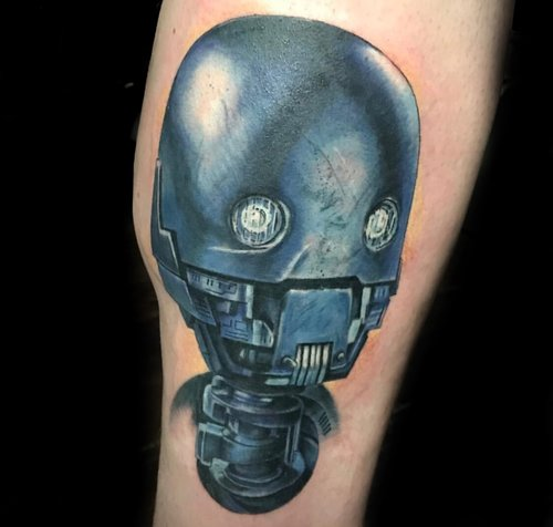 Custom Color Realism Robot Tattoo by Greg at Certified Tattoo Studios Denver Co.jpg