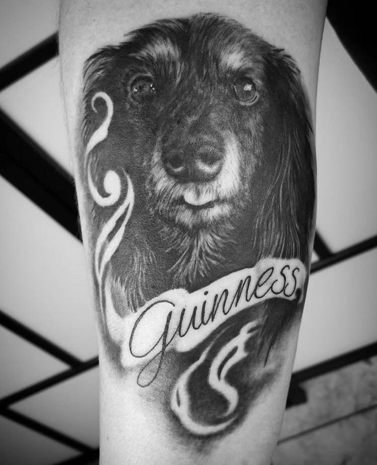 Black and Gray Dog Portrait Tattoo by Alix at Certified Tattoo Studios Denver Co 1.jpg