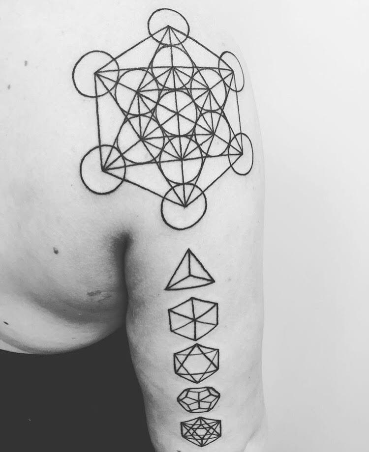 Custom Black Sacred Geometric Tattoo by Ash at Certified Tattoo Studios Denver CO.jpg