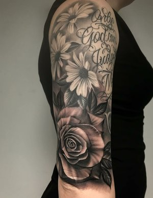 Custom Black and Grey  Giant Rose Tattoo by Salvador Diaz at Certified Tattoo Studios in Denver Co (15).jpg