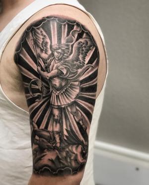 Custom Black and Grey Warrior Angel Tattoo by Salvador Diaz at Certified Tattoo Studios in Denver Co (11).jpg