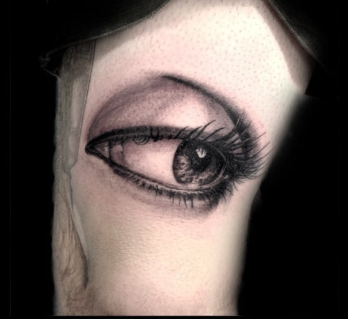 Custom Black and Gray Realism Eye Tattoo by Greg at Certified Tattoo Studios Denver Co.jpg