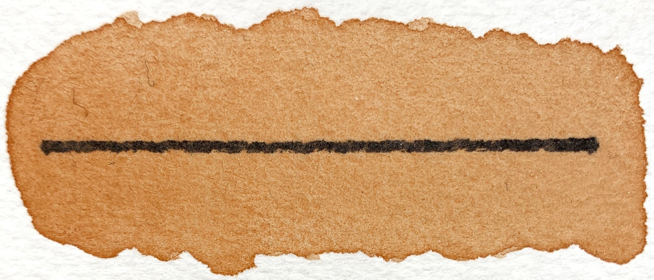 Punkin Frost - Mineral Pigment, semitransparent, excellent lightfastness, nonstaining