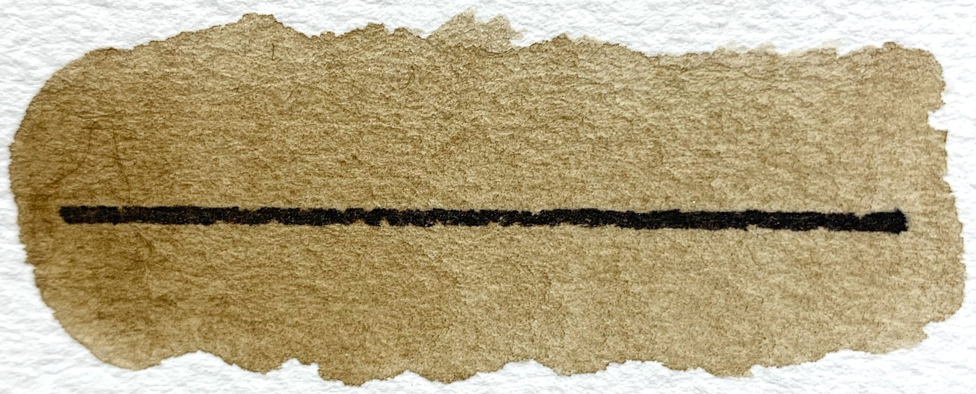 Southern Fried Paint - PY43, PBk11, semitransparent, excellent lightfastness, low staining,